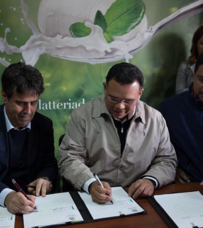 Empresa italiana de quesos establecerá fábrica en Yucatán