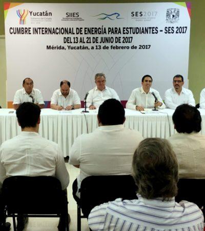 Yucatán, sede de Cumbre Internacional de Energía para Estudiantes