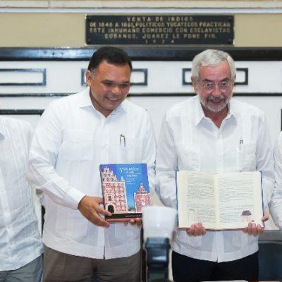 Se presenta la colección editorial Mayab: Urdimbre de Identidades.